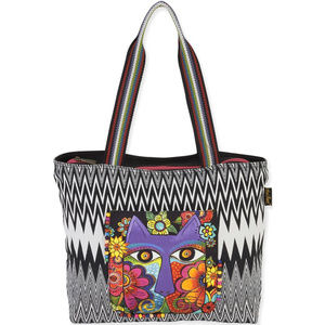 Laurel Burch Tote NEW with Tags Blossoming Feline